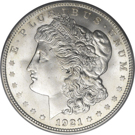 1921 Morgan Silver Dollar Coin Value