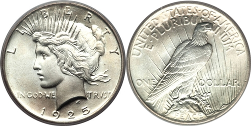 Most Valuable Peace Silver Dollars Us Coin Values