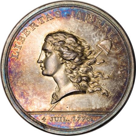 1781 Libertas Americana Medal