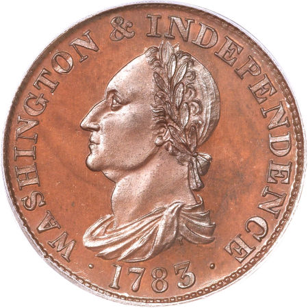 1783 Draped Bust, Copper Restrike