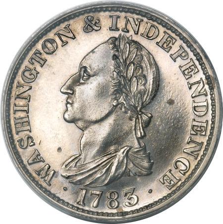 1783 Draped Bust, Silver Restrike