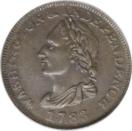 1783 Draped Bust, Unity States