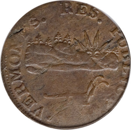 1785 Vermont Copper, VERMONTS