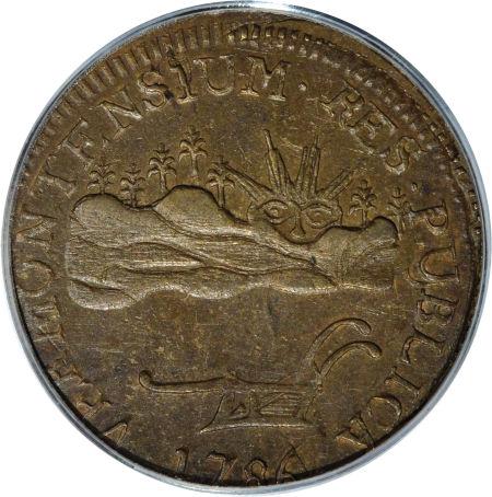 1786 Vermont Copper, VERMONTENSIUM