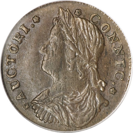 1787 Draped Bust Facing Left CONNFC Connecticut