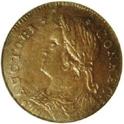 1788 Draped Bust Facing Left Connecticut
