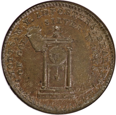 1789 Mott Token, Thick Planchet, Plain Edge