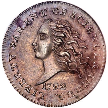 1792 Disme or Dime