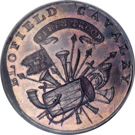 1795 Cent Talbot, Allum & Lee-Blofield Cavalry Mule