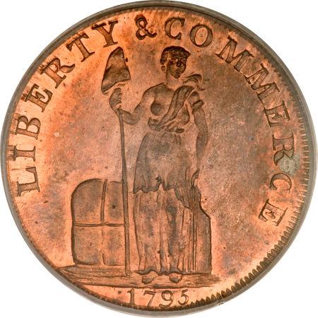1795 Cent Talbot, Allum & Lee Cent