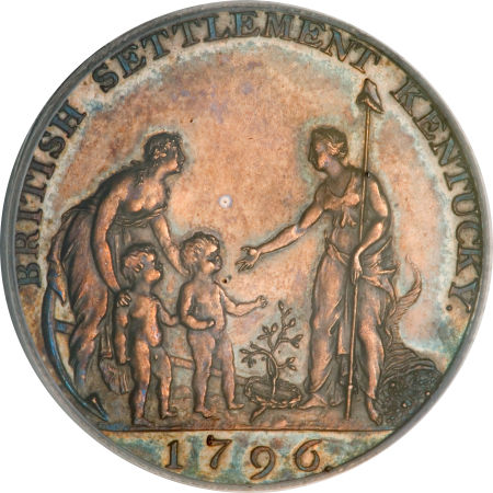 1796 TOKEN Myddelton Token, Silver