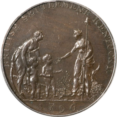 1796 Copper Company Of Upper Canada Token
