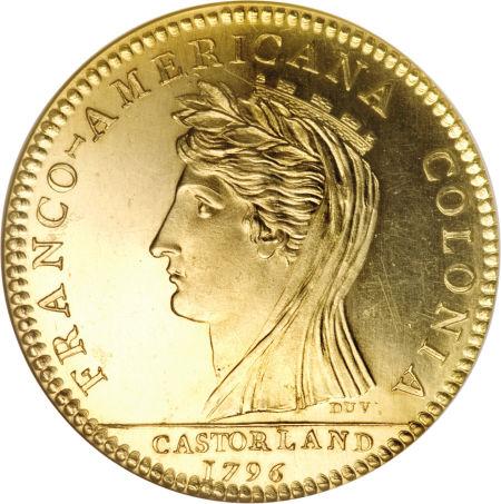 Restrike 1796 Castorland Medal_reverse die copy