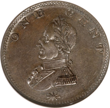 Undated (circa1783) Washington Double Head