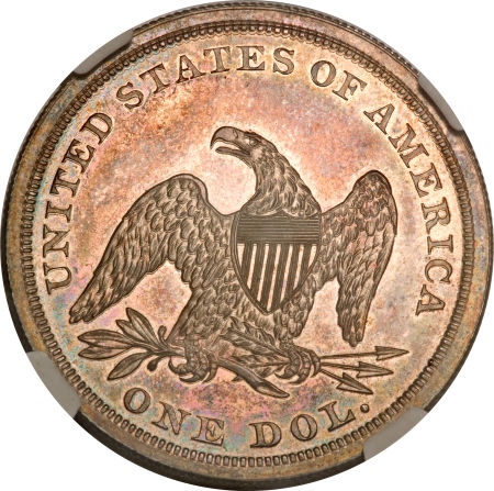 1840 Seated Liberty Dollar Value Coin Values