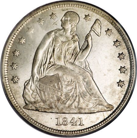 1841 Seated Liberty Dollar
