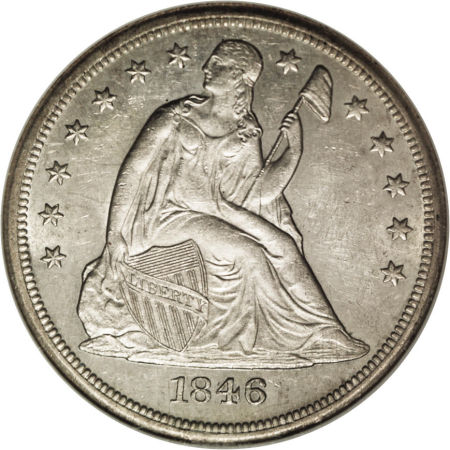 1846 O Seated Liberty Dollar Coin Value Facts