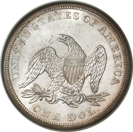 1859 Seated Liberty Dollar Coin Value Facts
