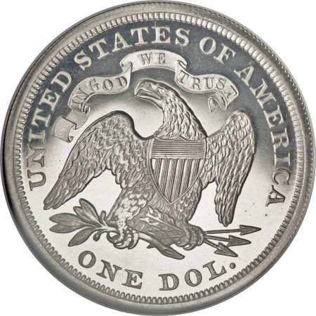 1869 Seated Liberty Dollar Coin Value Facts