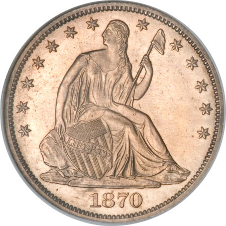 1870 Cc Seated Liberty Dollar Coin Value Facts