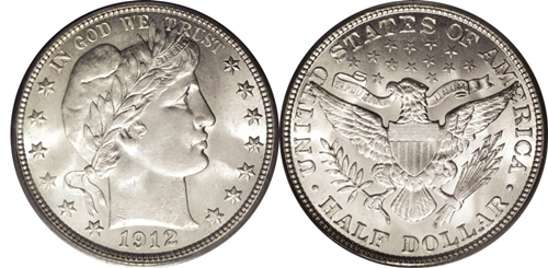 Barber Half Dollar Value