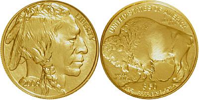 Most valuable $50 American Buffalo Gold Bullion values