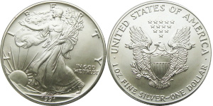 Most valuable American Silver Eagle values