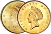 Most valuable $1 gold US Coins