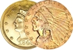 Most valuable $2.50 gold US Coins