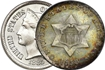 Most valuable US 3 Cent nickel silver US Coins