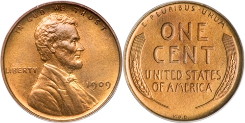 1909 VDB Lincoln Cent Image Value