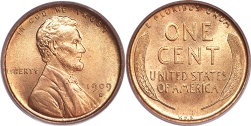 1909-S VDB Lincoln Cent Value Image