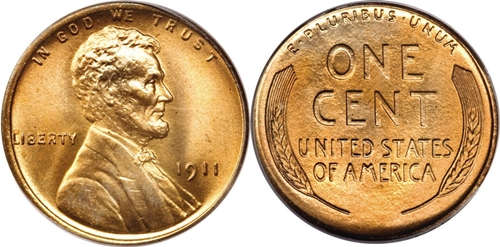 1911 Lincoln Cent Value Image