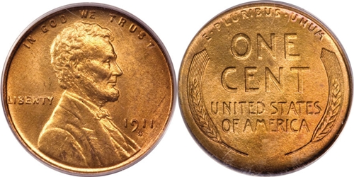 1911-S Lincoln Cent Value Image