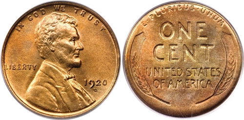 1920-D  LINCOLN WHEAT CENT #5
