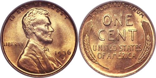 1936-S Lincoln Wheat Cent Coin Value, Facts