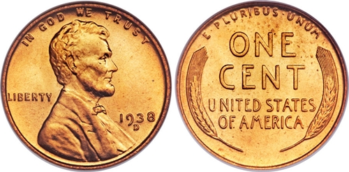 1938-D Lincoln Wheat Cent Coin Value, Facts