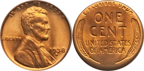 1938-S Lincoln Wheat Cent Coin Value, Facts