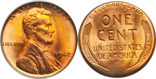 1942 Lincoln Wheat Cent Coin Value Facts