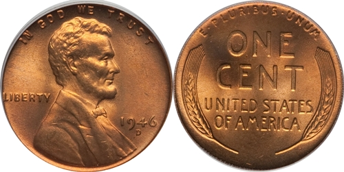 1946-D Lincoln Wheat Cent Coin Value, Facts
