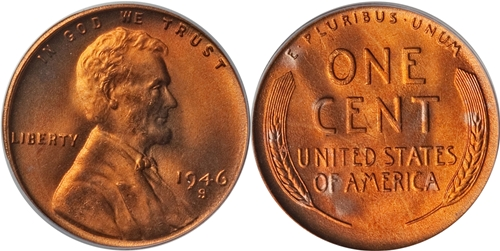 1946 S Lincoln Wheat Cent Coin Value Facts