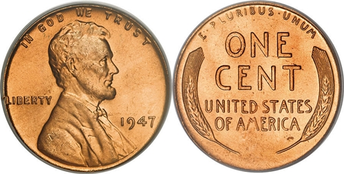 1947 Lincoln Wheat Cent Coin Value, Facts
