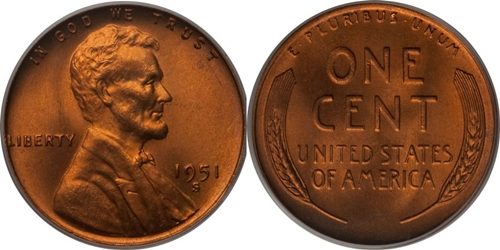 1951-S Lincoln Wheat Cent Coin Value, Facts