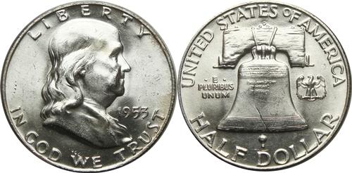 1953-D Franklin Half Dollar Value