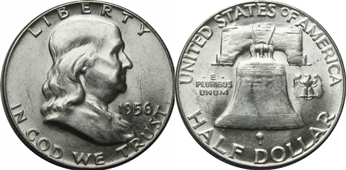 1956 Franklin Half Dollar Value