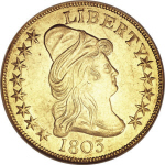 1803 Capped Head Facing Right $10.00
