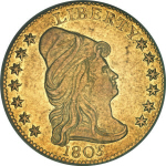 1805 Capped Head Facing Right $2.50