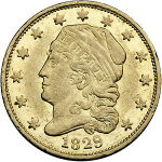 1825 Capped Head $2.50