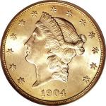 1904 Liberty Head $20