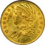 1810 Capped Bust $5.00 Gold